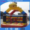 Ligação em ponte inflável do Moonwalk do salto para o parque das crianças