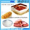 Trihidrato /CAS No. del acetato del sodio de la categoría alimenticia: 6131-90-4
