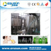 Llenado con agua caliente Línea de producción de jugo de la pulpa