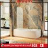 壁に取り付けられたプロフィールの現代ヨーロッパの浴槽のシャワー・カーテン(MYA6211)