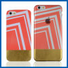 Ясное iPhone 6 Plus аргументы за Edging Gold Hard Back