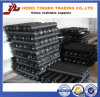 CE& ISO9001 PVC上塗を施してある黒い正方形の金網