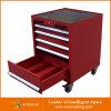 Красный шкаф инструмента хранения инструмента пальто порошка