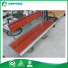 인도네시아 Solid Wood Bench Seating (FY-1261X)를 가진 스테인리스 Steel Park Bench