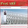 無線リモートが付いている卸し業者の価格の耐久の安い鋼鉄引き込み式のゲート