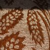 Floral beige Chenille con Coating (FTH31193)