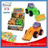 Plastikbeleuchtung-Aufbau-LKW-Spielzeug mit Süßigkeit