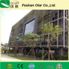 Placa estável do revestimento da fachada do cimento da fibra da cor (placa da parede)