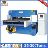 Máquina de corte hidráulica da imprensa do empacotamento plástico do suco do fornecedor de China (hg-b80t)