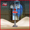 Holiday argenté Decoration Unique Gift 188cm Christmas Lamp avec la DEL