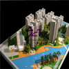 3D Residential Building Scale Model для Exhibition (BM-0277)