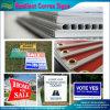 Напольный рекламировать жизнерадостное Corrugated пластичное Correx подписывает (J-NF32P08004)