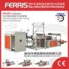 Automatischer Falz-und Walzen-Abfall-Beutel, der Maschine herstellt