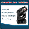 Satge Lighting 280W Beam Spot Wash 3in 1 Moving Head