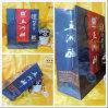Het nieuwe Goedkope Pakket van de Gift van de Fabrikant van de Zak van de Wijn van het Katoenen Document van het Handvat