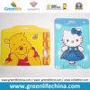 Desenhos animados plásticos elegantes bolsos de cartão macios personalizados de Vinyle