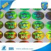 Adhesive Hologram Sticker Label, Silvery Hologram Sticker
