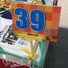 Prezzo da pagare della plastica delle memorie dei vestiti