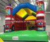 Kids、Inflatable Bouncyのための熱いInflatable Bouncer Firecar