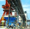 Application de convoyeur à bande de cuvette dans le port