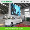 Chipshow P10のトラック移動式LED LED表示スクリーン