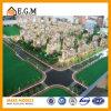 Modelos del modelo de las propiedades inmobiliarias/del edificio residencial/modelos de la exposición/modelo de la configuración