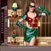 Costume métallique de Cosplay de héros de partie sexy de femmes (TEU895)