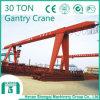 Grue 2016 de portique unique de poutre de Shengqi-Constructeur 30 tonnes