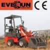 Everun 600kg Farming Machine Mini Wheel Loader с Grapple Forks