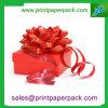 Caja de embalaje de la Navidad de la visualización de la cinta hecha a mano del regalo
