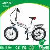 Grasa de 20 pulgadas plegable la bicicleta eléctrica China con la rueda 4.0 4.5