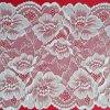 부채 모양으로 만들어진 가장자리를 가진 Rashel 레이스를 뜨개질을 하는 꽃 날실