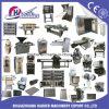 Four rotatoire diesel/électrique de gaz de matériel de boulangerie de crémaillère pour le traitement au four de pain
