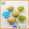 Eco-Friendly цветастые прессформы пирожня силикона формы цветка
