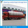 Réservoir de stockage de matériels de l'acier inoxydable 316