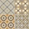 Mattonelle rustiche e mattonelle di pavimento di ceramica con il W. un 1-3%