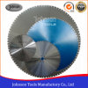 6001600mm Diamond Saw Blade met Good Sharpness voor Reinforced Concrete Cutting