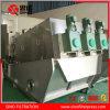 Filtre-presse de vis d'acier inoxydable pour l'asséchage de cambouis