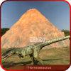 Parque temático de tamaño natural del dinosaurio de la atracción del dinosaurio de la diversión