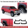 シボレーSilverado C K 10 1988-1998年のための涼しい車の原料PPのフェンダーの火炎信号