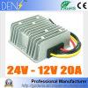 O conversor abaixador 24V da C.C. da C.C. a 12V 20A 240W Waterproof a fonte de alimentação do carro
