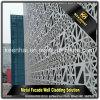 Revêtement moderne extérieur décoratif d'aluminium de façade de construction
