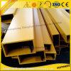 Hohles quadratisches Aluminiumgefäß für Aluminium-aufgeteiltes Gefäß