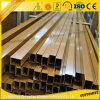Tube en aluminium/pipe des graines en bois d'OEM pour des meubles Decoation