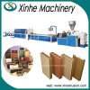PVC 목제 플라스틱 WPC 단면도 및 널 압출기 생산 밀어남 선