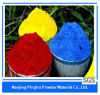 Ral químico colorea la capa del polvo