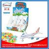 Het in het groot Goedkope Plastic Nieuwe Stuk speelgoed van het Voertuig van het Vliegtuig van het Stuk speelgoed met Suikergoed