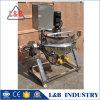 Eléctrica de acero inoxidable con camisa de calefacción Caldera en Ruedas