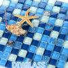 Mosaico di vetro di decorazione blu di disegno speciale
