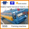 Stahldach-Furchung, die Maschine mit Fabrik bildet